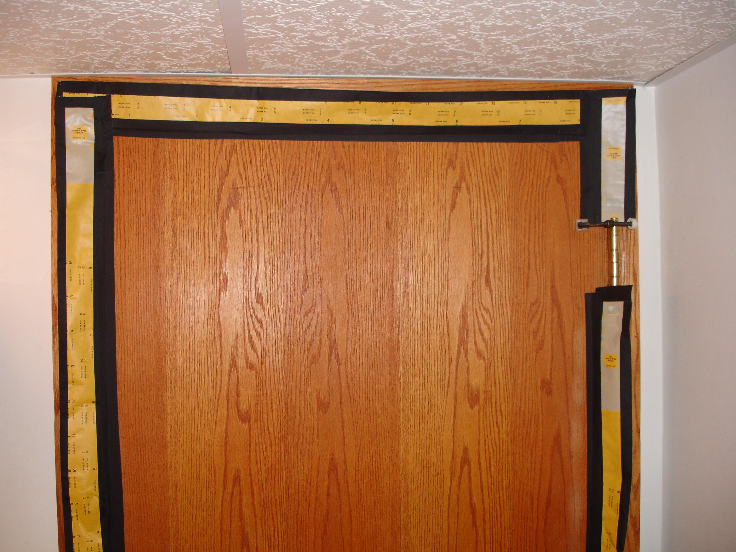 & Darkroom Door Light Trap